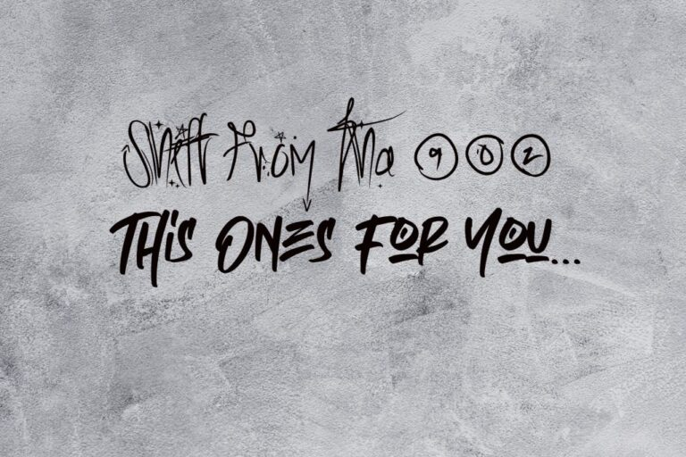 SHiFT FROM THA 902 – This Ones For You EP
