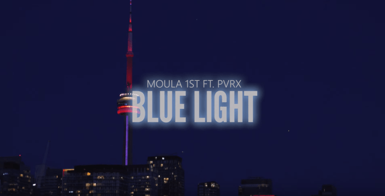 Moula 1st & PVRX hit us with Blue Light visuals to close off 2019