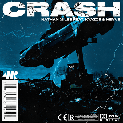 "Nathan Miles hits us with his new single ""Crash"" Featuring Kyazze & Hevve"
