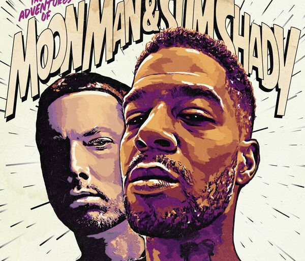 Kid Cudi and Eminem Team Up on 'The Adventures of Moon Man & Slim Shady'