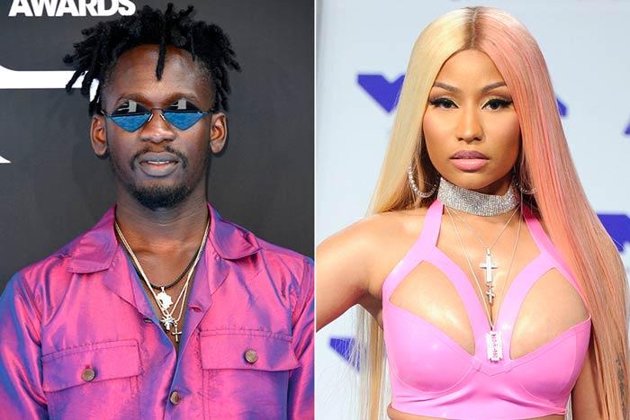 Mr Eazi Taps Nicki Minaj and Major Lazer for 'Oh My Gawd'