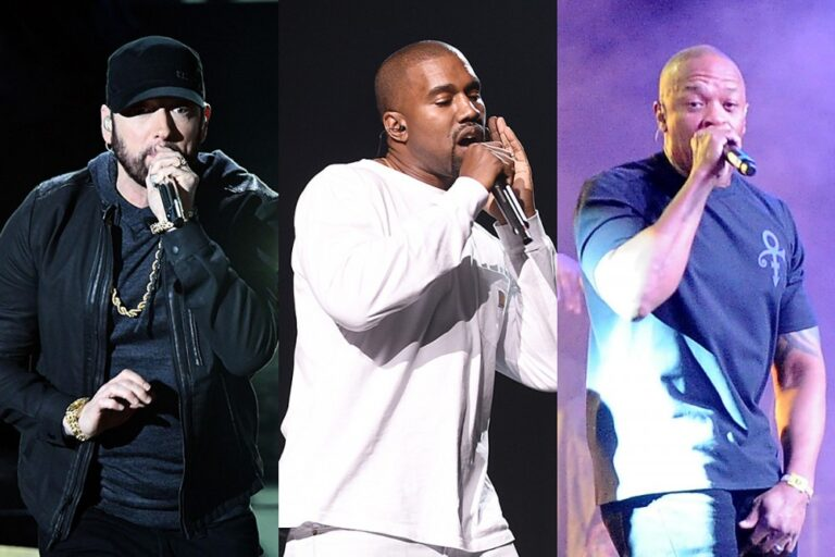 Looks Like a Kanye West, Eminem, Dr. Dre Song Is Coming