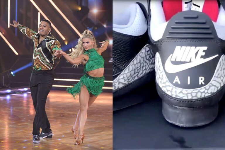 Nelly Has Jordan Sneakers Made With a Heel to Perform on Dancing With the Stars
