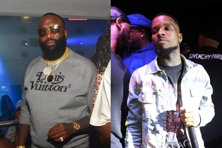 Rick Ross Puts Tory Lanez on Blast, Calls His Protest Claims a Photo-Op