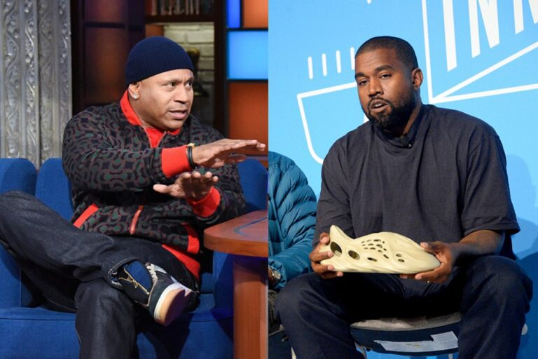 """LL Cool J Blasts Kanye West for Urinating on Grammy Award: """"Piss in a Pair of Them Yeezys"""""""