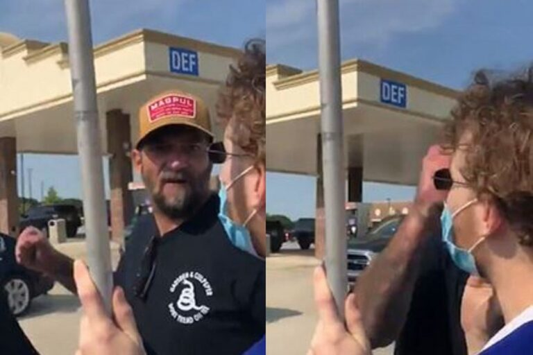 """Trump Supporter Punches Man for Playing YG and Nipsey Hussle's """"FDT"""": Watch"""