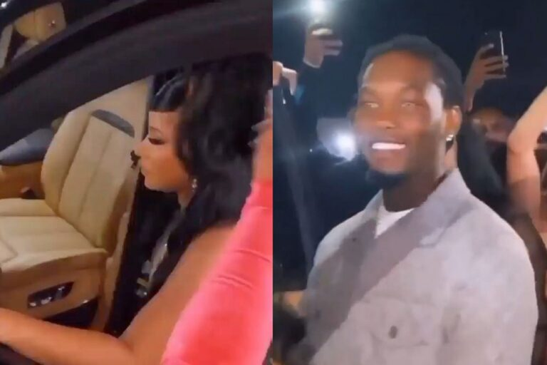 Offset Parties With Cardi B, Buys Her a New Rolls Royce Car