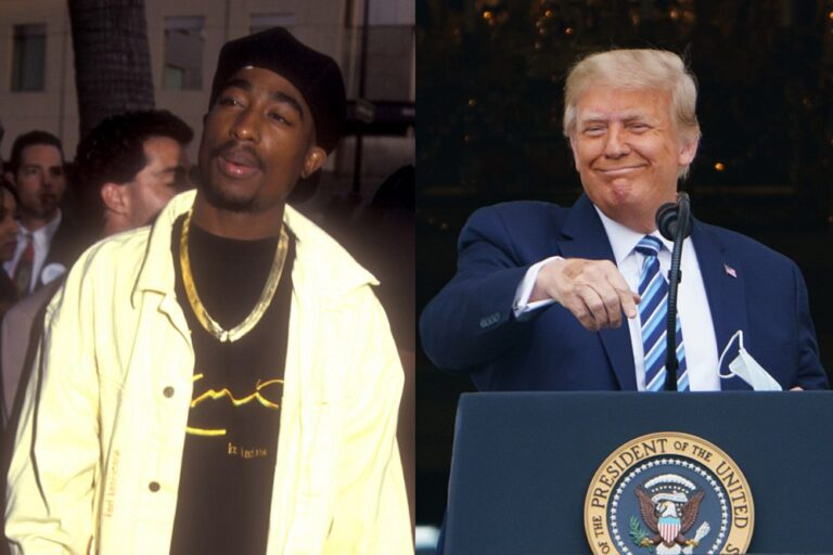 Tupac Shakur's Family Blasts Trump Campaign for Using Rapper to Mock Senator Kamala Harris