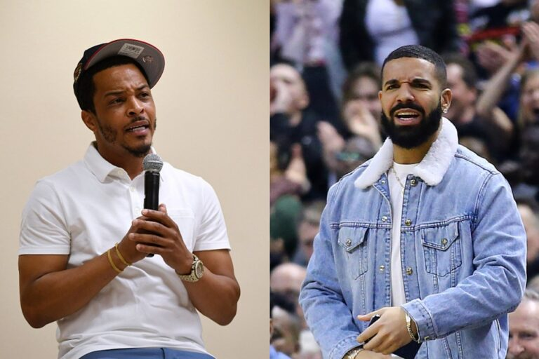 T.I. Confirms His Friend Peed on Drake on New Song