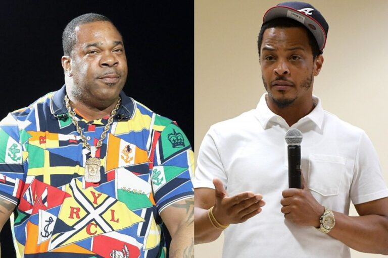"""Busta Rhymes Wants a Hits Battle With T.I.: """"I'm Gonna Bust Your Ass"""""""
