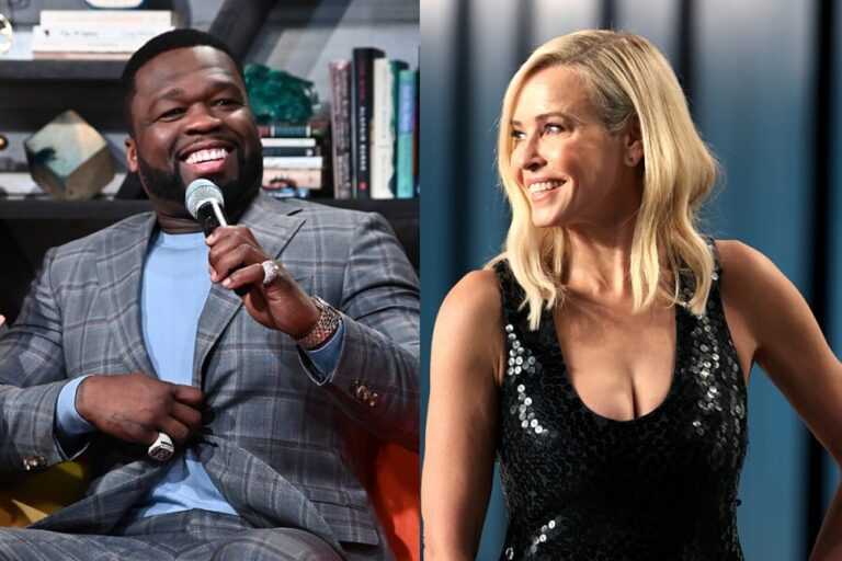 "50 Cent Says ""F@!k Donald Trump"" After Ex-Girlfriend Chelsea Handler Offers to Pay His Taxes"