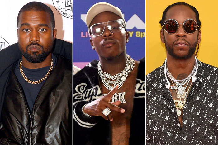 Kanye West Previews 'Nah Nah Nah' Remix with DaBaby and 2 Chainz