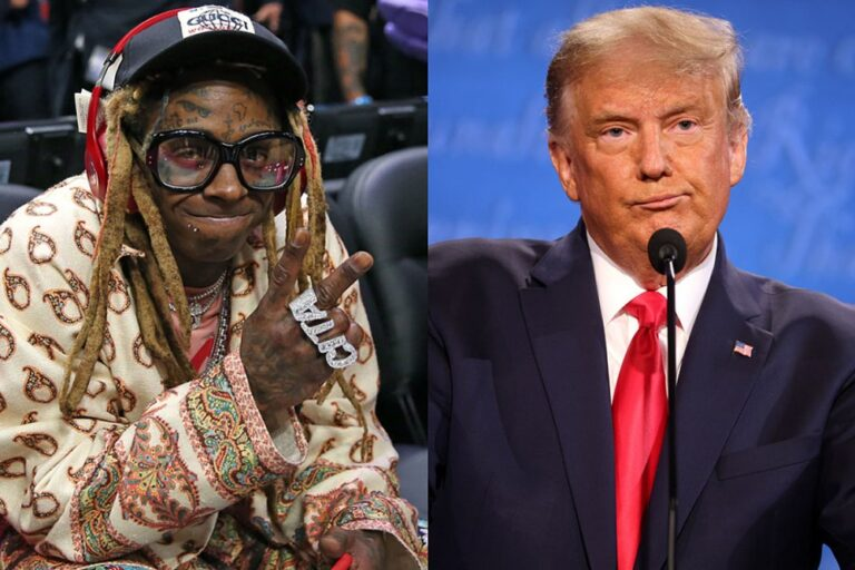Lil Wayne Meets With President Trump, Appears to Give His Support