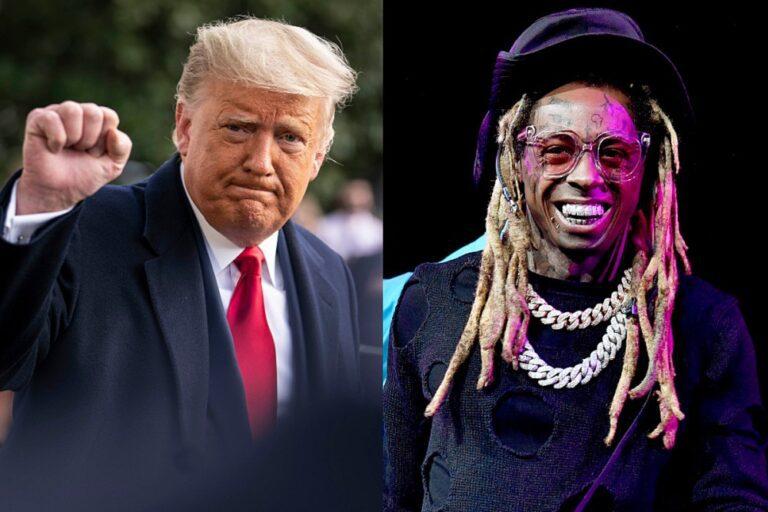 President Trump Praises Lil Wayne, Calls Him an Activist