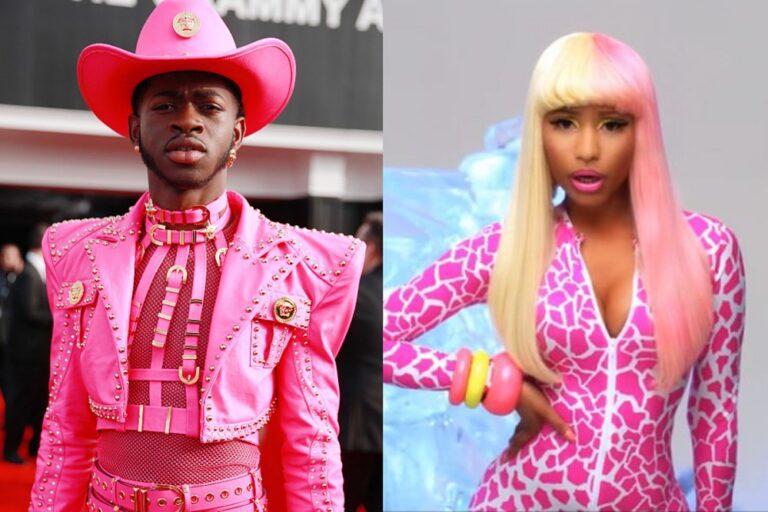 Lil Nas X Changes Into Nicki Minaj for Halloween