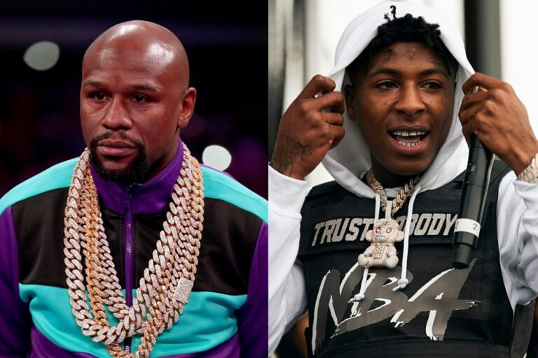 Floyd Mayweather Confirms His Daughter Iyanna Is Expecting Child With YoungBoy Never Broke Again