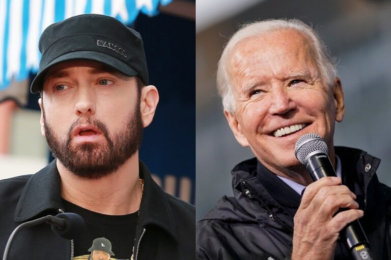 "Joe Biden Releases New Campaign Ad Featuring Eminem's ""Lose Yourself"": Watch"