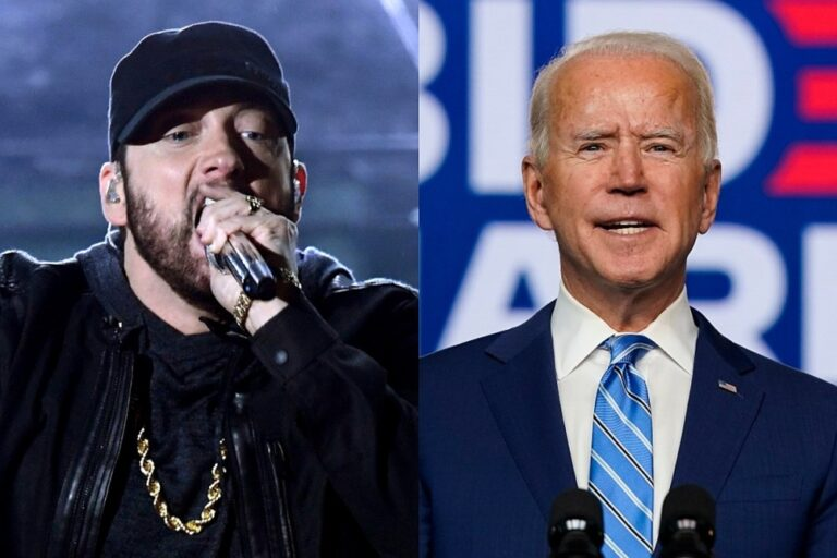 People Think Eminem Is the Reason Joe Biden Won Michigan in Presidential Election
