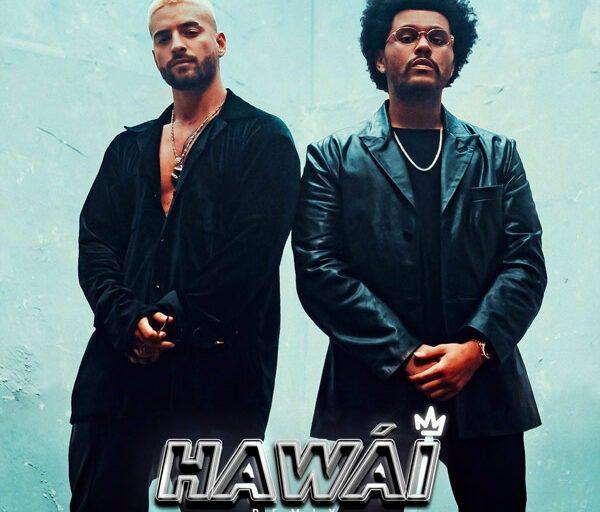 Maluma and The Weeknd Team Up on 'Hawái (Remix)'