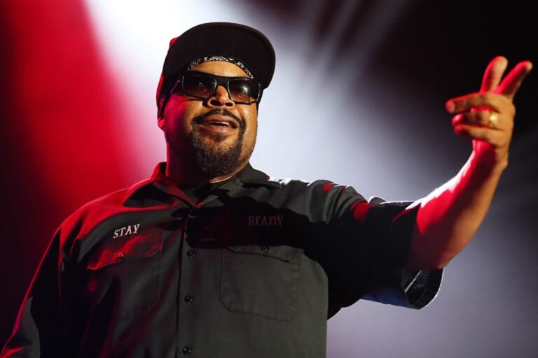 Ice Cube Is Fed Up With People Calling Him Out Over Working With President Trump