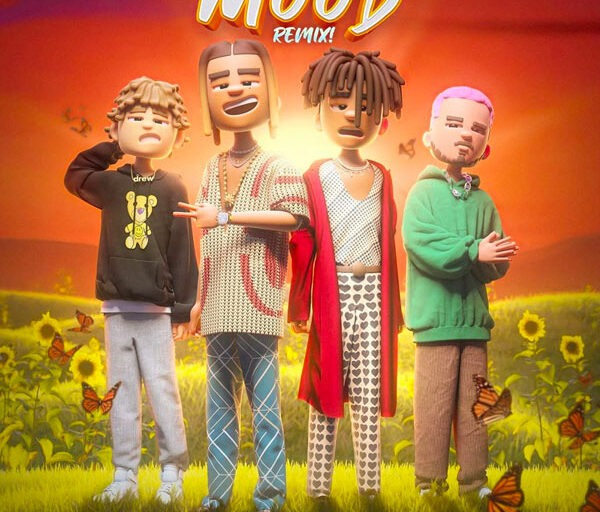 24kGoldn Taps Justin Bieber and J Balvin for 'Mood (Remix)'