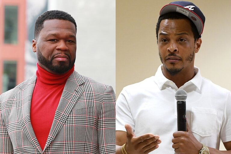 """50 Cent Calls Out T.I.: """"What Hood You From Again?"""""""