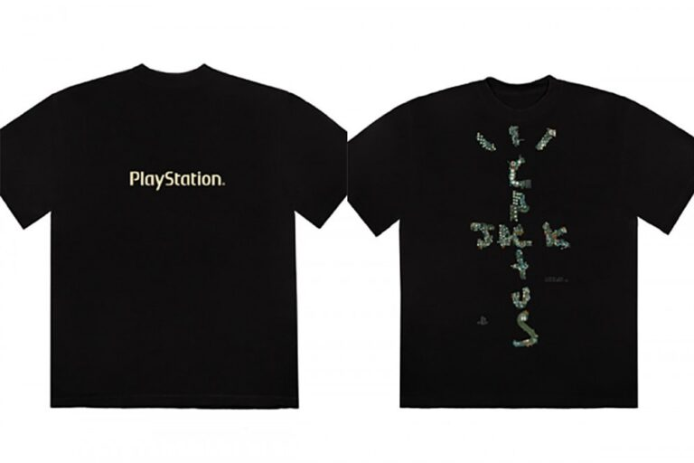 Travis Scott Launches Merch Collection With PlayStation