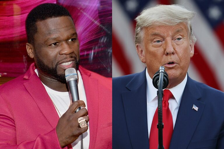 50 Cent Claims He Turned Down $1 Million From Trump Administration