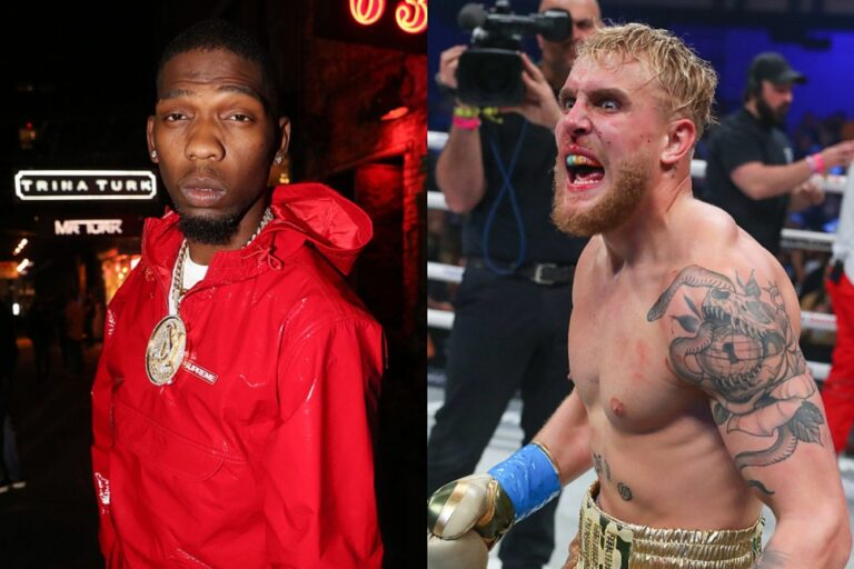 BlocBoy JB Wants to Fight YouTuber Jake Paul After Seeing Him Knockout Nate Robinson