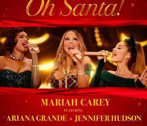 Mariah Carey, Ariana Grande, and Jennifer Hudson Team Up on 'Oh Santa!'