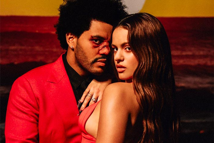 The Weeknd Enlists Rosalía for 'Blinding Lights' Remix
