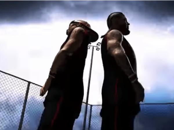 The Game & Lil Wayne Ball Like 'A.I. With The Braids'