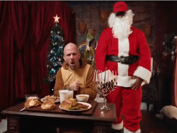 Kosha Dillz Tells The Tale Of Santa's Jewish Reindeer 'Schmuck The Buck'