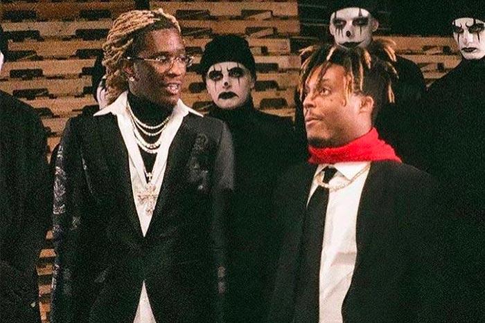 Juice WRLD and Young Thug Drop 'Bad Boy' Collaboration