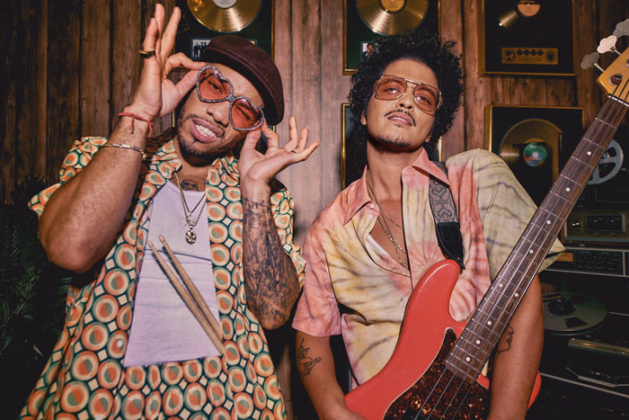 Bruno Mars and Anderson .Paak Drop Silk Sonic Single 'Leave the Door Open'
