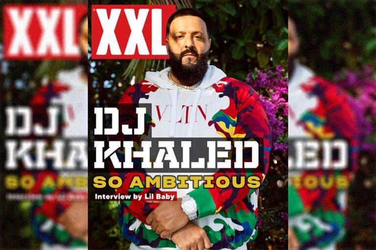 DJ Khaled Covers Digital Edition of XXL Magazine