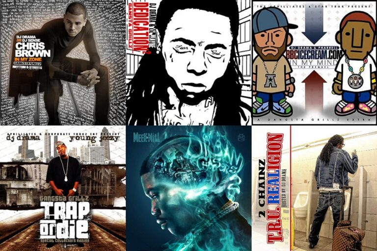 DJ Drama Ranks His Top 10 Gangsta Grillz Projects of All Time