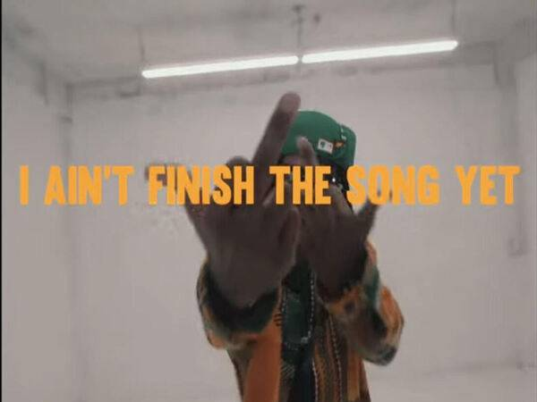 Keyan7e Got A Good Head Start In 'I Aint Finished The Song Yet'