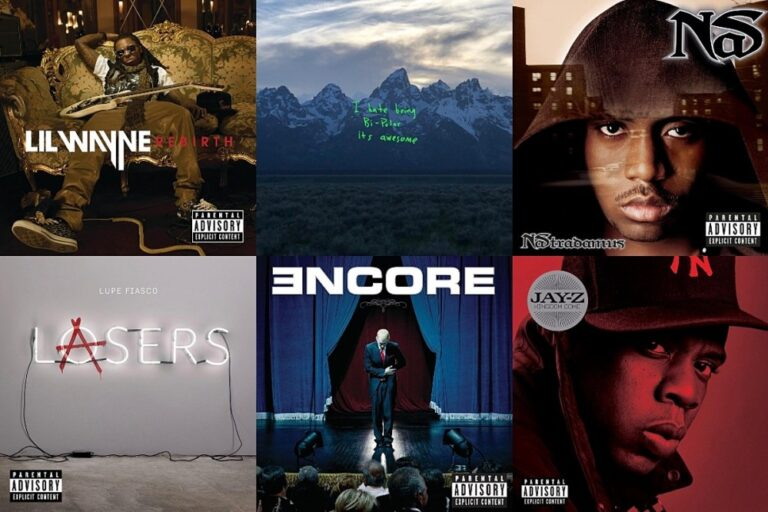 15 Weakest Albums by Great Rappers