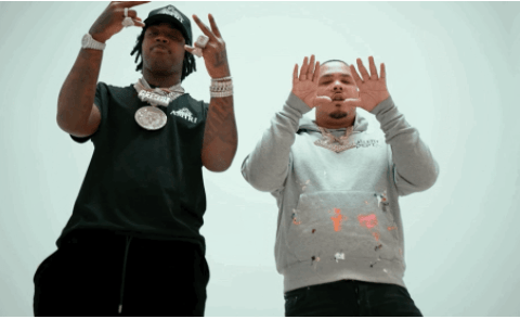Offset Jim & EST Gee Keep It Fresh In 'Off White Mikes'